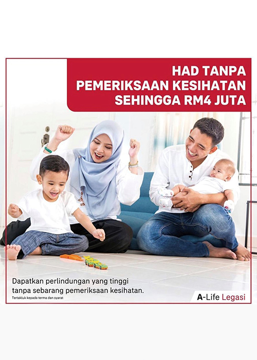 Takaful Legacy Planning <br />ABOVE RM350k
